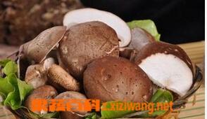 果蔬百科干香菇